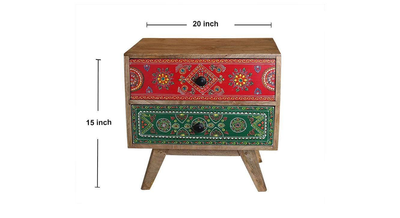 Ekaja bedside table multicolour 6