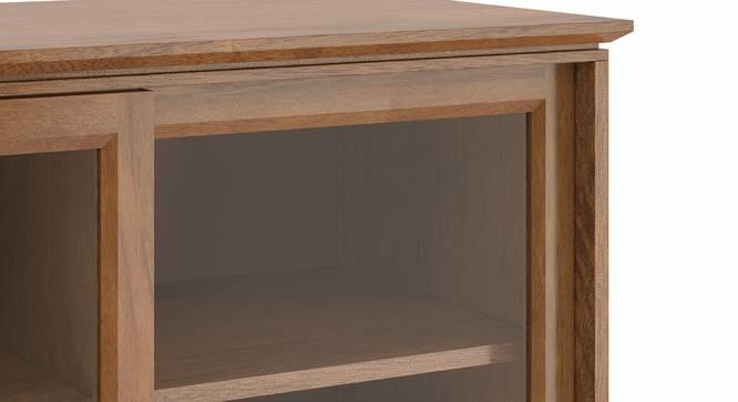 Fujiwara Bookshelf/Display Cabinet (75-book capacity) (Amber Walnut Finish) by Urban Ladder - Zoomed Image Design 1 -
