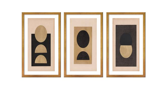 Bodhi Wall Art (Gold) by Urban Ladder - Front View Design 1 - 385452