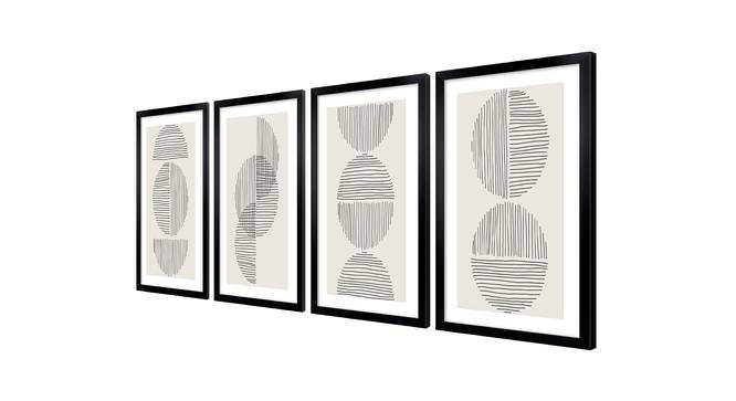 Andre Wall Art (Black) by Urban Ladder - Cross View Design 1 - 385462