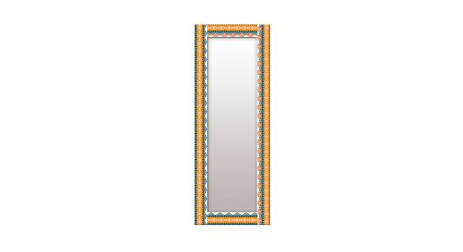 Arlow Wall Mirror (Yellow, Tall Configuration, Rectangle Mirror Shape) by Urban Ladder - Front View Design 1 - 385504