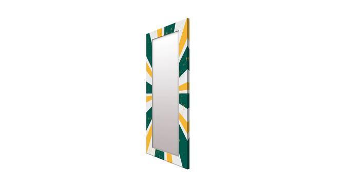 Burch Wall Mirror (Green, Tall Configuration, Rectangle Mirror Shape) by Urban Ladder - Cross View Design 1 - 385507