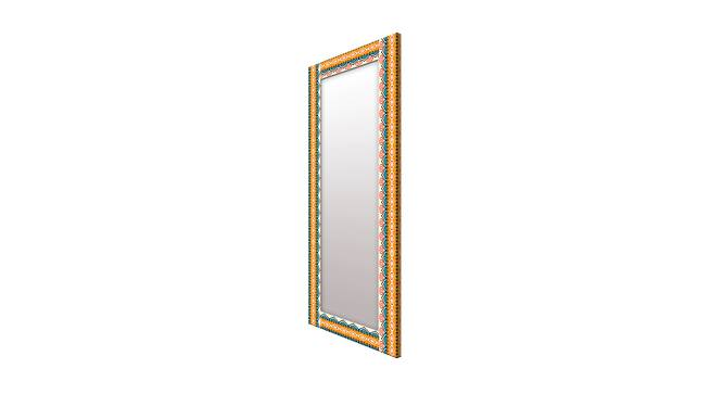 Arlow Wall Mirror (Yellow, Tall Configuration, Rectangle Mirror Shape) by Urban Ladder - Cross View Design 1 - 385508