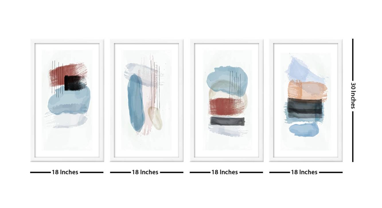 Edie wall art multi 6