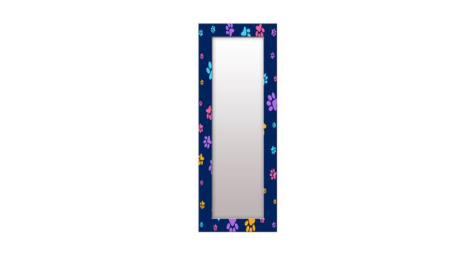 Cydnie Wall Mirror (Blue, Tall Configuration, Rectangle Mirror Shape) by Urban Ladder - Front View Design 1 - 385601
