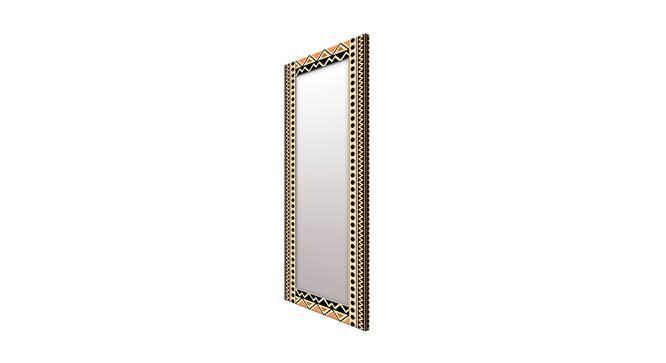 Eilah Wall Mirror (Black, Tall Configuration, Rectangle Mirror Shape) by Urban Ladder - Cross View Design 1 - 385604