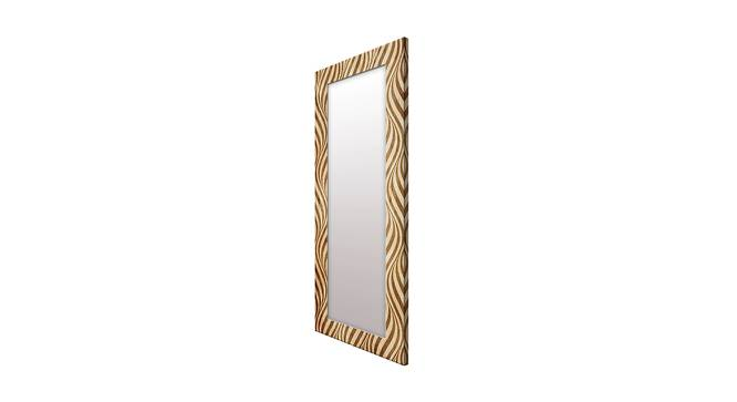 Erle Wall Mirror (Gold, Tall Configuration, Rectangle Mirror Shape) by Urban Ladder - Cross View Design 1 - 385607