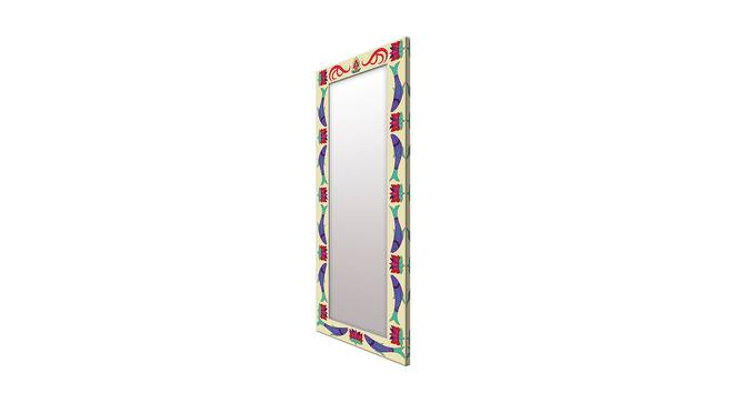 Flo Wall Mirror (Navy Blue, Tall Configuration, Rectangle Mirror Shape) by Urban Ladder - Cross View Design 1 - 385680