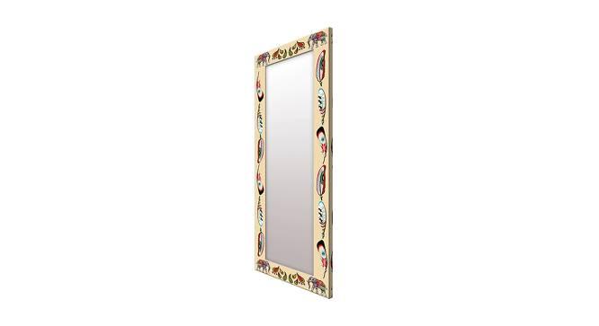 Iolanda Wall Mirror (Brown, Tall Configuration, Rectangle Mirror Shape) by Urban Ladder - Cross View Design 1 - 385681