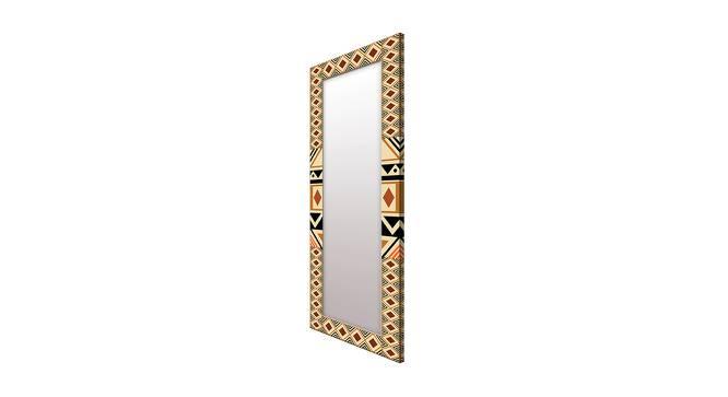 Floretta Wall Mirror (Brown, Tall Configuration, Rectangle Mirror Shape) by Urban Ladder - Cross View Design 1 - 385682