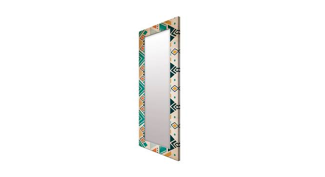 Irit Wall Mirror (Brown, Tall Configuration, Rectangle Mirror Shape) by Urban Ladder - Cross View Design 1 - 385684