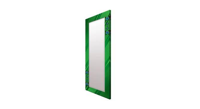 Ilean Wall Mirror (Green, Tall Configuration, Rectangle Mirror Shape) by Urban Ladder - Cross View Design 1 - 385685