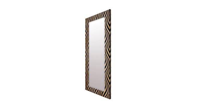 Hodges Wall Mirror (Gold, Tall Configuration, Rectangle Mirror Shape) by Urban Ladder - Cross View Design 1 - 385686