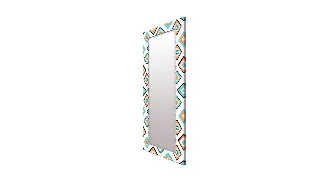 Jaryl Wall Mirror (White, Tall Configuration, Rectangle Mirror Shape) by Urban Ladder - Cross View Design 1 - 385687
