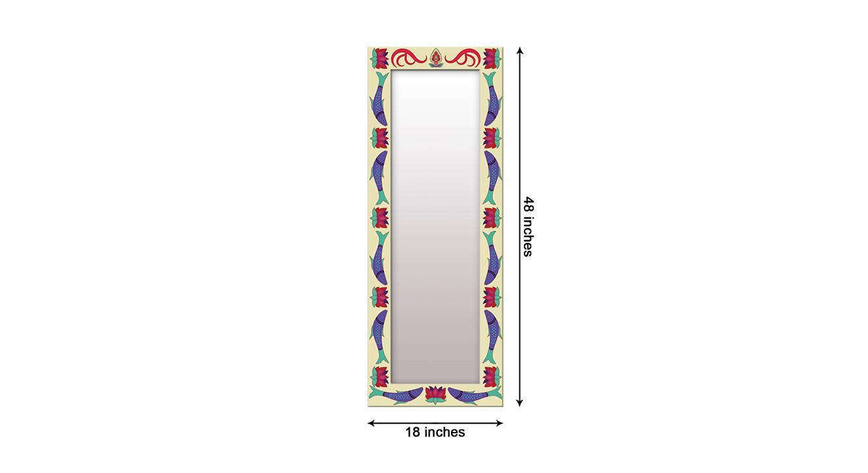 Flo wall mirror navy blue 6