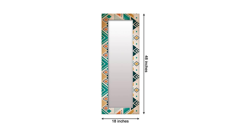 Irit wall mirror brown 6