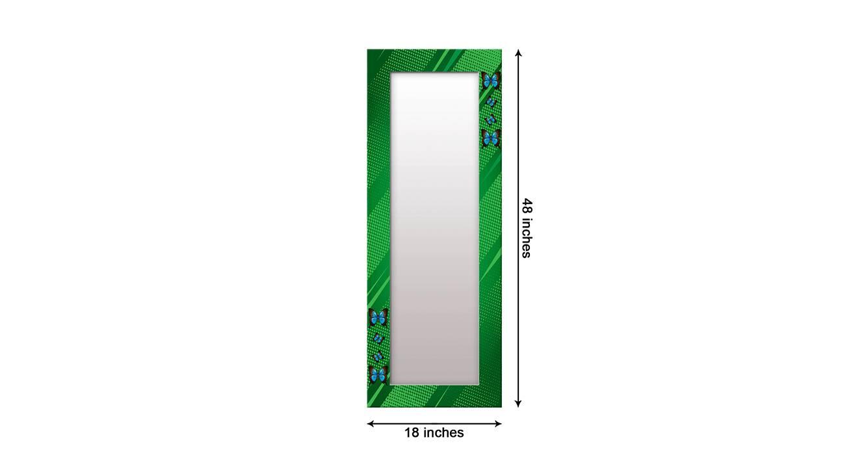 Ilean wall mirror green 6