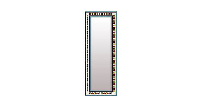 Laurynn Wall Mirror (White, Tall Configuration, Rectangle Mirror Shape) by Urban Ladder - Front View Design 1 - 385765