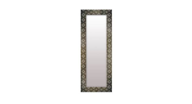 Jolanta Wall Mirror (Grey, Tall Configuration, Rectangle Mirror Shape) by Urban Ladder - Front View Design 1 - 385766