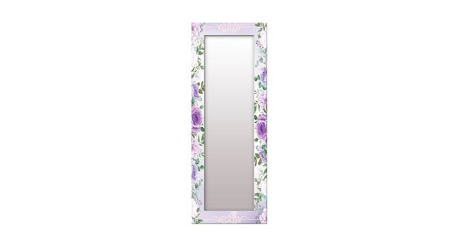 Kanesha Wall Mirror (White, Tall Configuration, Rectangle Mirror Shape) by Urban Ladder - Front View Design 1 - 385768