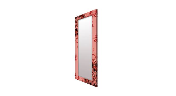Jennilee Wall Mirror (Red, Tall Configuration, Rectangle Mirror Shape) by Urban Ladder - Cross View Design 1 - 385781