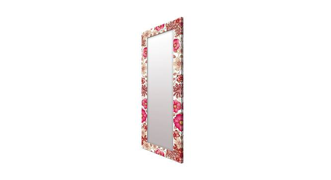 Jerre Wall Mirror (Red, Tall Configuration, Rectangle Mirror Shape) by Urban Ladder - Cross View Design 1 - 385782