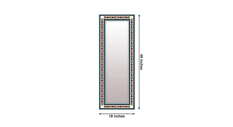 Laurynn wall mirror white 6