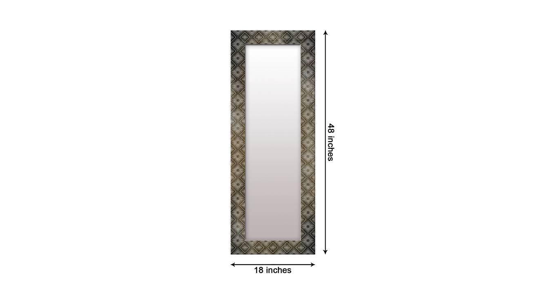 Jolanta wall mirror grey 6