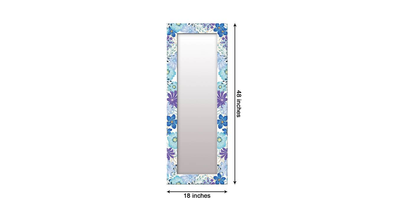 Kimba wall mirror blue 6