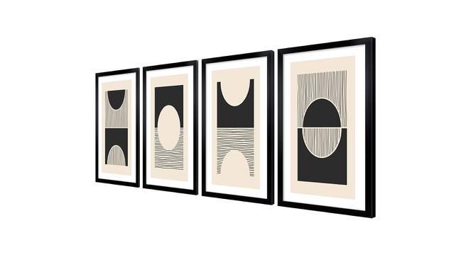 Malcolm Wall Art (Cream) by Urban Ladder - Cross View Design 1 - 385821