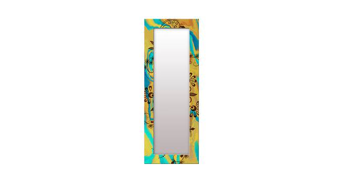 Lorrae Wall Mirror (Yellow, Tall Configuration, Rectangle Mirror Shape) by Urban Ladder - Front View Design 1 - 385856