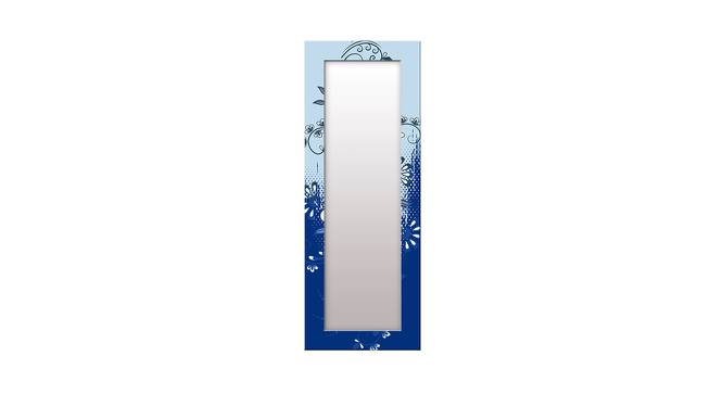 Lurline Wall Mirror (Blue, Tall Configuration, Rectangle Mirror Shape) by Urban Ladder - Front View Design 1 - 385862
