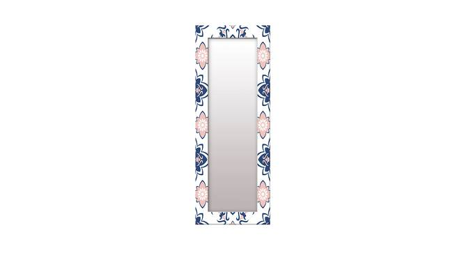 Purity Wall Mirror (White, Tall Configuration, Rectangle Mirror Shape) by Urban Ladder - Front View Design 1 - 385865