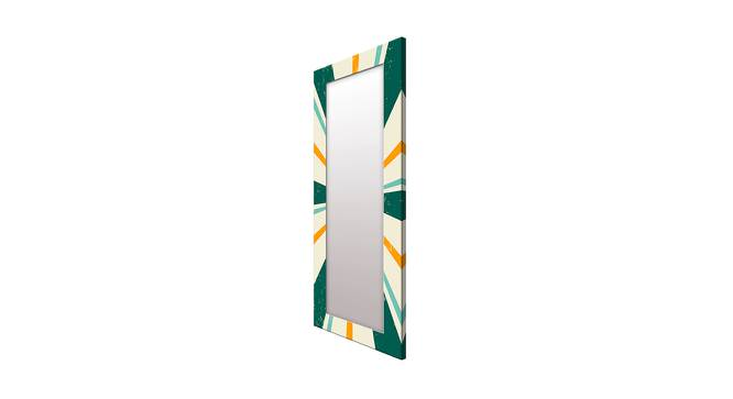 Lindo Wall Mirror (Green, Tall Configuration, Rectangle Mirror Shape) by Urban Ladder - Cross View Design 1 - 385866