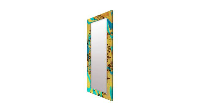 Lorrae Wall Mirror (Yellow, Tall Configuration, Rectangle Mirror Shape) by Urban Ladder - Cross View Design 1 - 385867