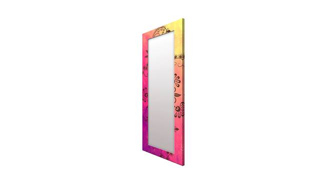 Lorrae Wall Mirror (Pink, Tall Configuration, Rectangle Mirror Shape) by Urban Ladder - Cross View Design 1 - 385868