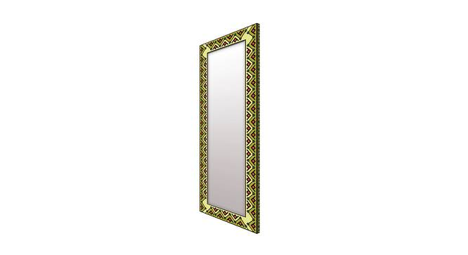Orna Wall Mirror (Green, Tall Configuration, Rectangle Mirror Shape) by Urban Ladder - Cross View Design 1 - 385870