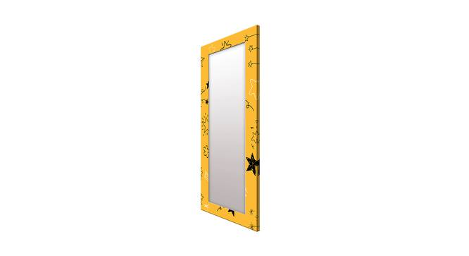 Nurit Wall Mirror (Yellow, Tall Configuration, Rectangle Mirror Shape) by Urban Ladder - Cross View Design 1 - 385875