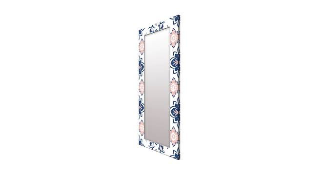 Purity Wall Mirror (White, Tall Configuration, Rectangle Mirror Shape) by Urban Ladder - Cross View Design 1 - 385876