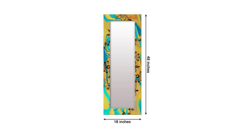 Lorrae wall mirror yellow 6