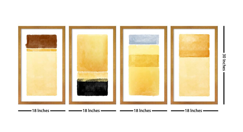 Wynn wall art gold 6