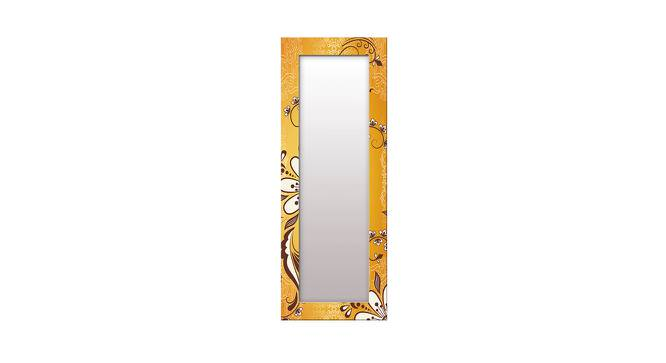 Wister Wall Mirror (Yellow, Tall Configuration, Rectangle Mirror Shape) by Urban Ladder - Front View Design 1 - 385958