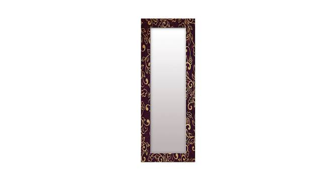 Shaunice Wall Mirror (Brown, Tall Configuration, Rectangle Mirror Shape) by Urban Ladder - Front View Design 1 - 385960