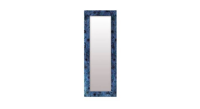 Shaunice Wall Mirror (Blue, Tall Configuration, Rectangle Mirror Shape) by Urban Ladder - Front View Design 1 - 385961