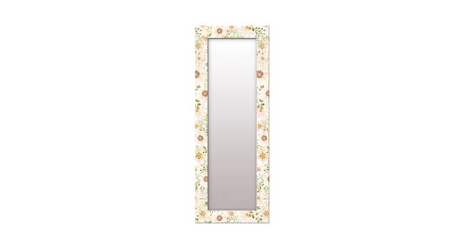 Shaunice Wall Mirror (White, Tall Configuration, Rectangle Mirror Shape) by Urban Ladder - Front View Design 1 - 385962