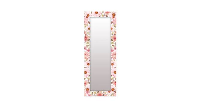 Shaunice Wall Mirror (Pink, Tall Configuration, Rectangle Mirror Shape) by Urban Ladder - Front View Design 1 - 385963