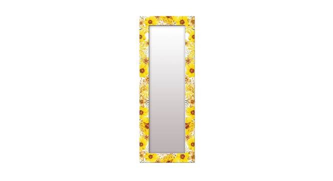 Shaunice Wall Mirror (Yellow, Tall Configuration, Rectangle Mirror Shape) by Urban Ladder - Front View Design 1 - 385964