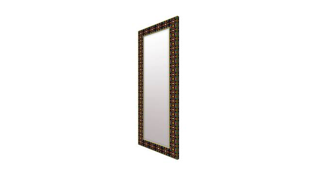 Rozann Wall Mirror (Brown, Tall Configuration, Rectangle Mirror Shape) by Urban Ladder - Cross View Design 1 - 385968