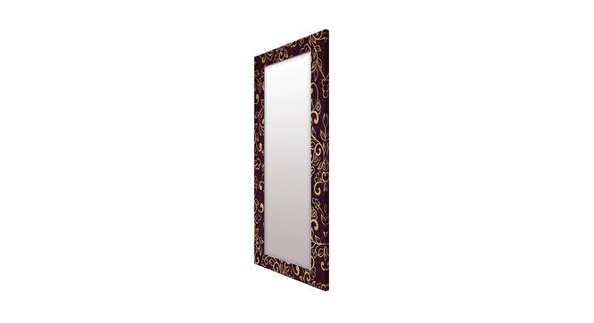 Shaunice Wall Mirror (Brown, Tall Configuration, Rectangle Mirror Shape) by Urban Ladder - Cross View Design 1 - 385969