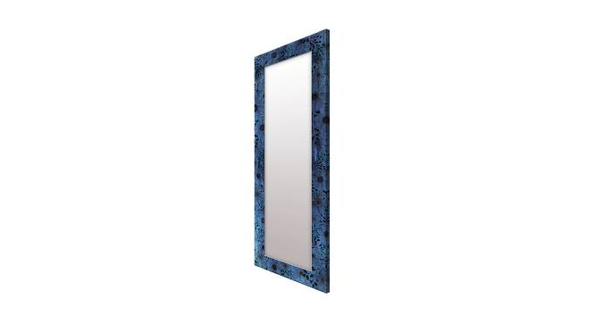 Shaunice Wall Mirror (Blue, Tall Configuration, Rectangle Mirror Shape) by Urban Ladder - Cross View Design 1 - 385970